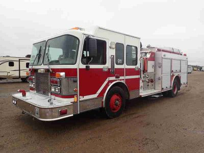 1998 Smeal Fire Apparatus Pumper Fire Truck