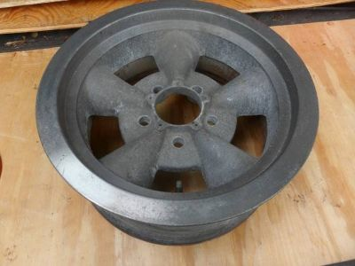 1957 - 64 Ford Torq-Thrust Mag Wheels/Rims 5x4.50 Ford Mustang