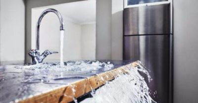 How do I turn the water off to carry out work in my property