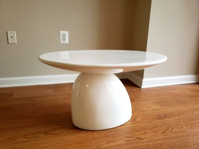 Bolo Coffee Table in White