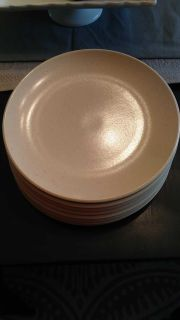 Heavy Calvin Klein dishes. One plate has a small chip on the underside