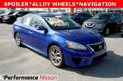 2015 Nissan Sentra S (blue)