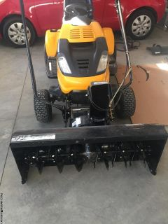 Cub cadet snow blower attachment
