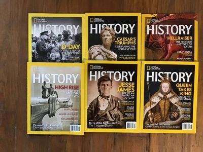 National Geographic History - 6 editions