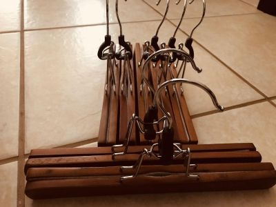 Wood hangers 4 for $1