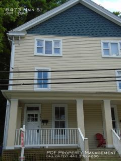 Townhome in historic Ellicott City