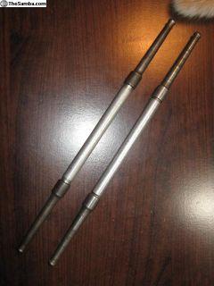 2 piece case Porsche push rods