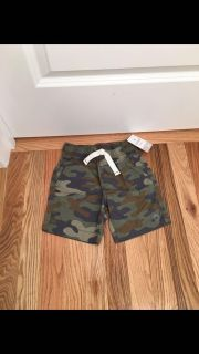 Carter's Camo Shorts. Size 3t. New with Tags.