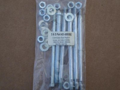 Purchase S&S CRANKCASE BOLT KIT BIG DOG EVO TWIN CAM ULTIMA REVTEC CUSTOM motorcycle in Lyons, Kansas, US, for US $19.99