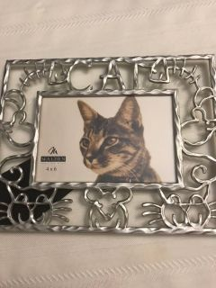 Cat Photo Frame for 4x6 New in Box