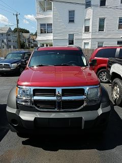 2007 Dodge Nitro SXT (Inferno Red Crystal Pearl)