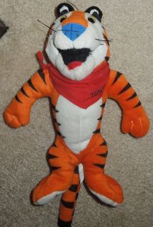 Collectors Tony the Tiger plush doll and promotional regulation baseball-NEW