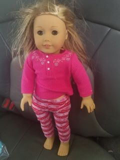 American Girl Doll Blonde hair