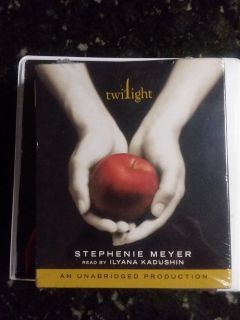 Twilight Audiobook Brand New
