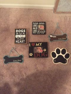 Dog/ Pet signs $5 for all