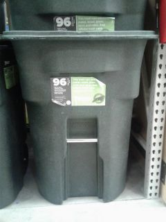 96 Gallon Trash Can