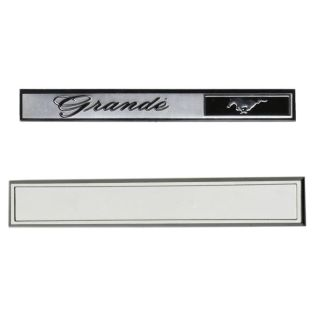 Sell 69-70 MUSTANG GRANDE DASH EMBLEM AND BEZEL SET motorcycle in Sheffield Lake, Ohio, US, for US $36.95