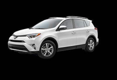 2018 Toyota RAV4 LE Hybrid AWD-i (Super White)