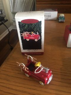 Hallmark Kiddie Car Classics Murray Fire Truck Ornament - 1995