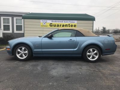 2008 Ford Mustang GT Premium (Blue)