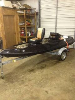 Brand NEW 12 foot Fiberglass boat with Trailer