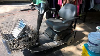 little rascal scooter with massaging chair