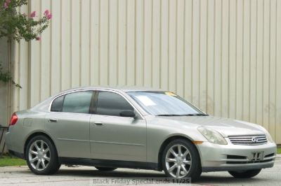 2003 Infiniti G35 - Low Miles - WE FINANCE!!! WE APPROVE!!! 4dr Sdn Auto