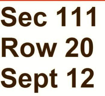 2 Elton John Philadelphia Tickets - September 12