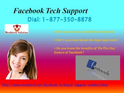 Amend FB account upheaval with Facebook Tech Support 1-877-350-8878