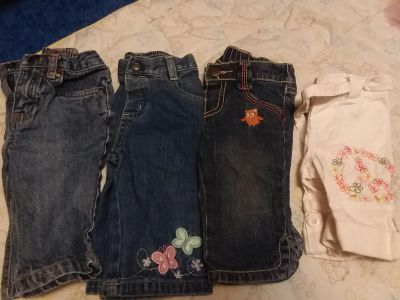 Size 3-6/6 Month Jeans