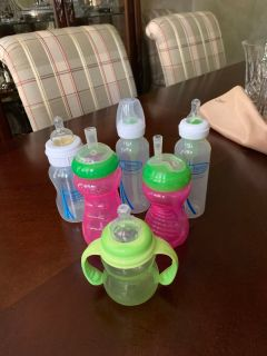 Baby Bottles and Drinking Cups