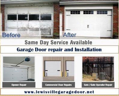Same Day | Garage Door Installation ($25.95) Lewisville Dallas, 75056 TX