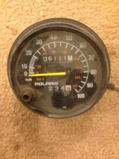 "Purchase POLARIS SPEEDOMETER 3 3/4"" 6111 MILES XLT XC motorcycle in Omro, Wisconsin, United States, for US $10.00"