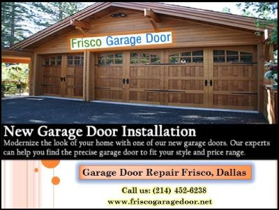 A+ Rated | Garage Door Repair, Garage Door Installation & Replacement ($25.95) Frisco Dallas, 75034