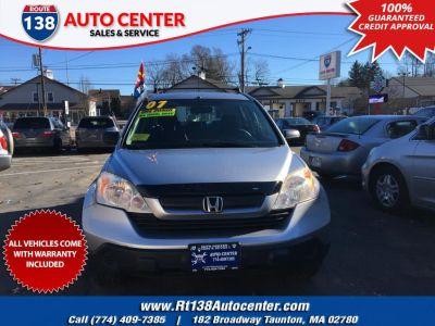 2007 Honda CR-V LX (Whistler Silver Metallic)