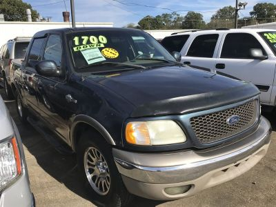 2002 Ford F-150 King Ranch (Blue)