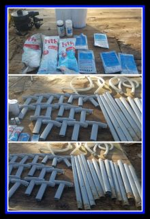 Intex Pool Parts and Chemicals