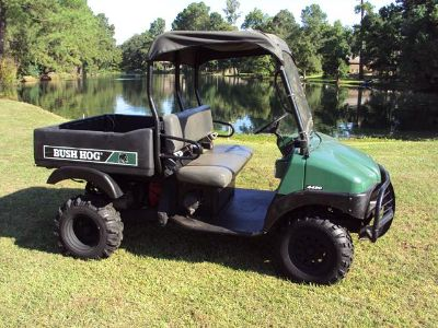 Bush Hog 4430 UTV 4X4 side by side with a Honda 24hp motor