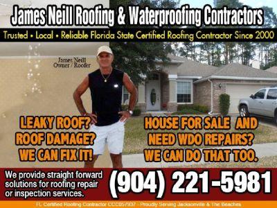 Jax Florida Licensed - Insured roofer services