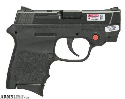 For Sale: M&P Bodyguard CTC 380