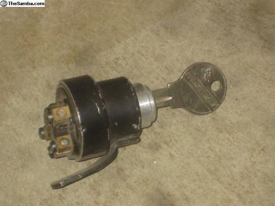54-57 Oval Bug Ignition With Key