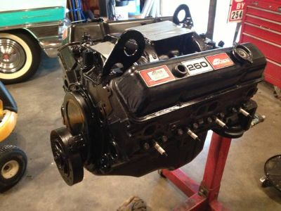 Chevy 350 V8 Mercruiser rebuilt engine