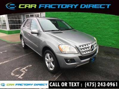2010 Mercedes-Benz M-Class ML350 4MATIC (Gray)
