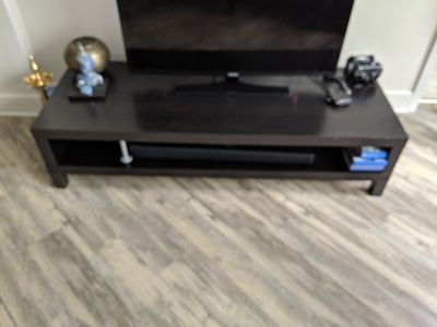 TV stand and TV for sale