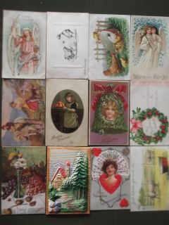 Antique collectible Postcards from the early 1900's (over 200)