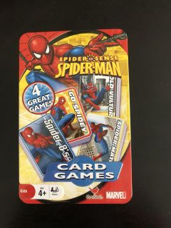 Spider-Man - 4 Card Games in the tin