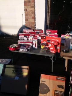 Yard sale indoors at 3116 Macon Rd Griffin Georgia 30224