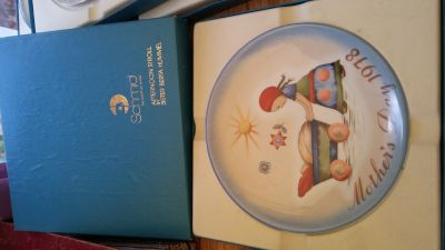 Mother's Day 1978 Schmid collector plate