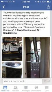 C. Davis Heating and Air Conditioning (Tyler and Surrounding Areas)