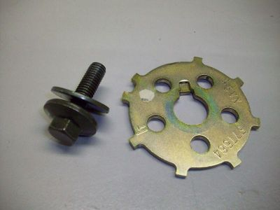 Find Y36 Yamaha FZ6 FZ 6 2005 Engine Timing Wheel w Bolt motorcycle in Ann Arbor, Michigan, US, for US $12.00